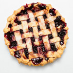 Blackberry Pie (Lattice Crust)