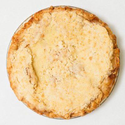 """""""Mom's Original"""" Dutch Apple Pie"""