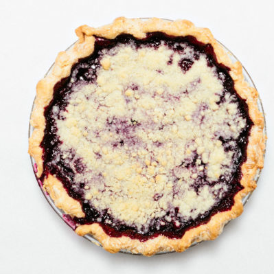 Dutch Blackberry Pie