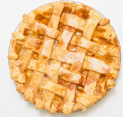 Peach Pie (Lattice Crust)