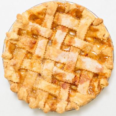Peach Pie (Lattice Crust)