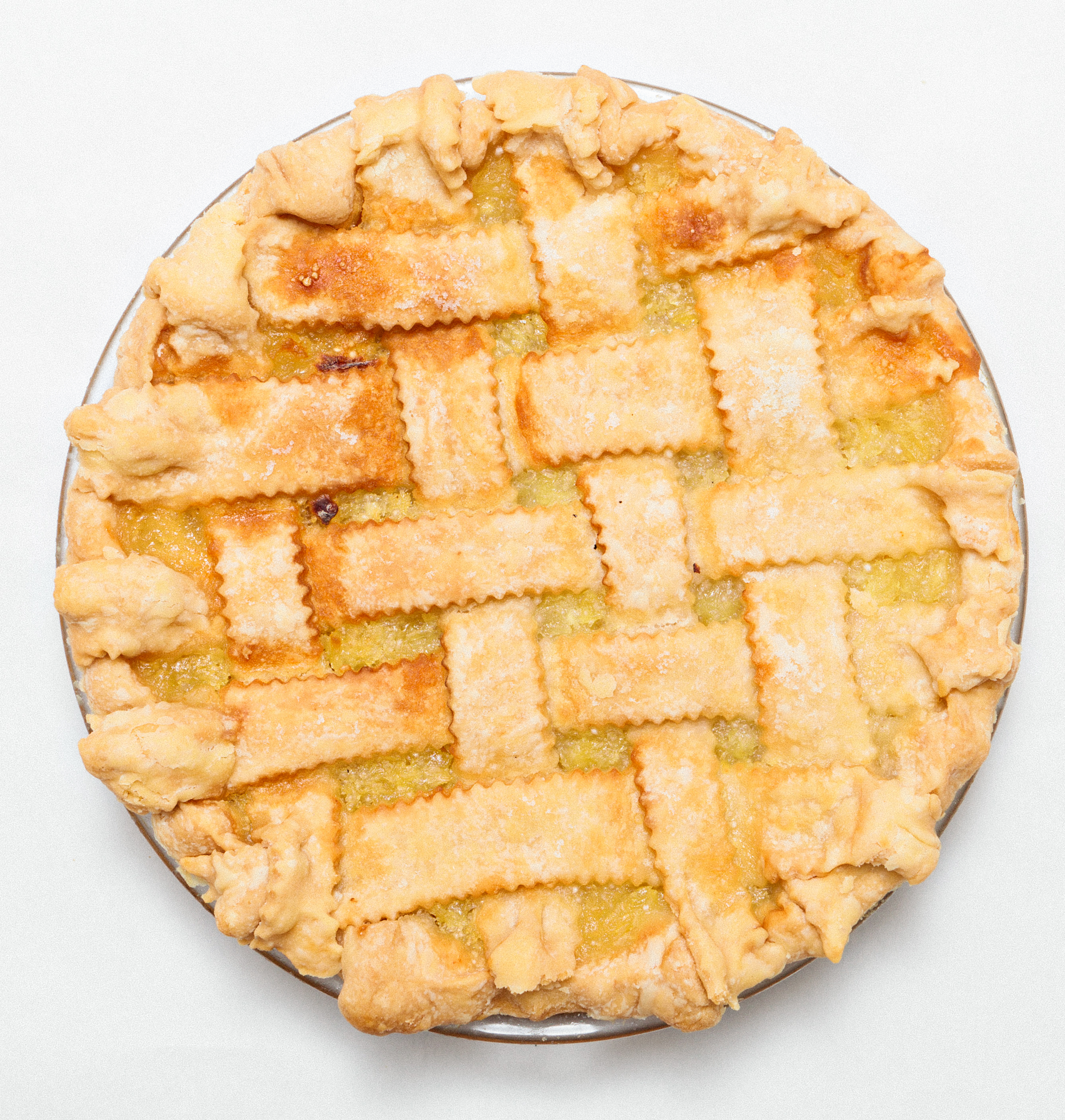 Pineapple Pie (Lattice Crust)