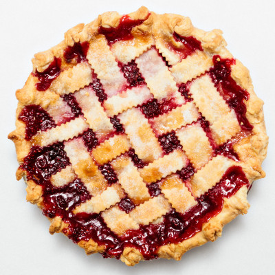 Red Raspberry Lattice