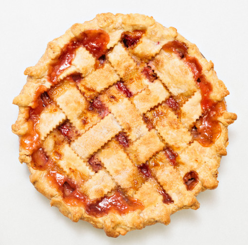 Home / Shop / Pies / Fruit Pies / Rhubarb Pie (Lattice Crust)