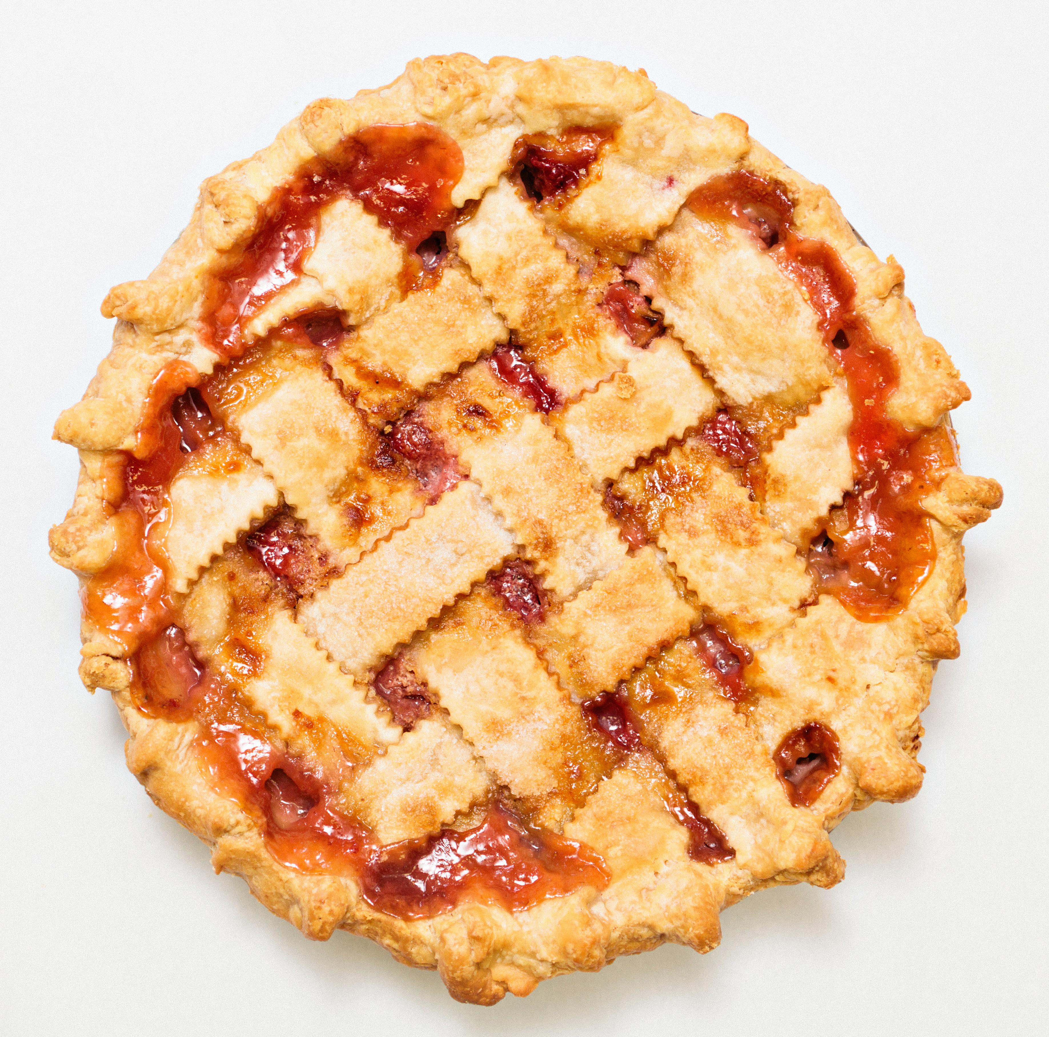Home / Shop / Pies / Fruit Pies / Rhubarb Pie (Lattice Crust)